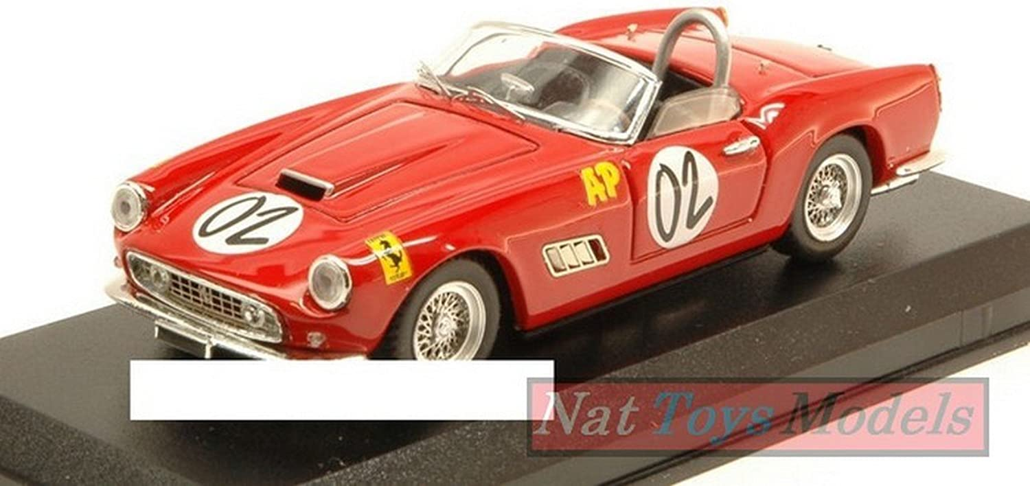 Art-modello AM0355 Ferrari 250 California N.2 2 H Relay Marlboro 1961 A.Wylie 1 43 Compatibile con