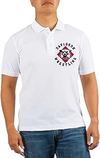 Davidson Wrestling - Golf Shirt, Pique Knit Golf Polo