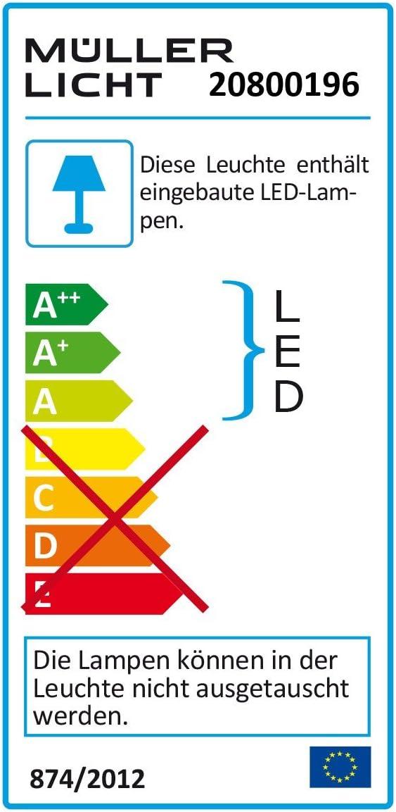 Müller-Licht LED Unterbauleuchte Ecoline 120cm IP20 20W 1700lm Neutralweiß 4000K