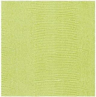 Caspari Hagedis papier linnen cocktailservetten in groen, vier verpakkingen van 15