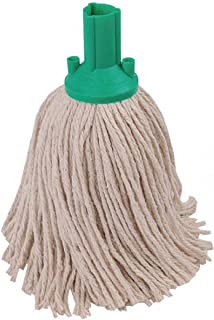 EXEL PYGN2510L Mop Head, 250 g, Green (Pack of 10)