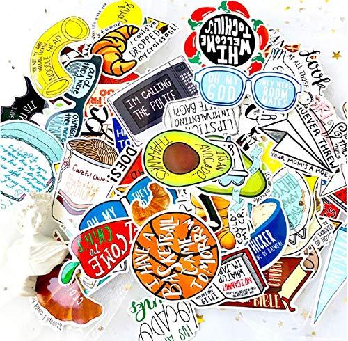 Luggage Stickers Mori Female Female Literature And Art Small Fresh Suitcase Stickers Cute Tide Brand Guitar Skateboard Stickers Waterproof 67