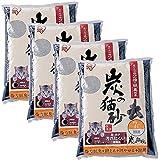 アイリスオーヤマ 炭の猫砂 7L×4袋 (まとめ買い)