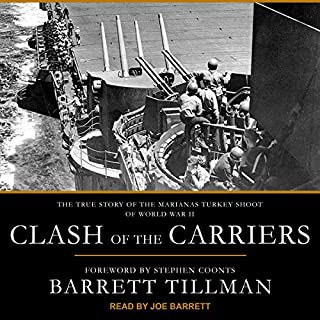 Clash of the Carriers audiobook cover art
