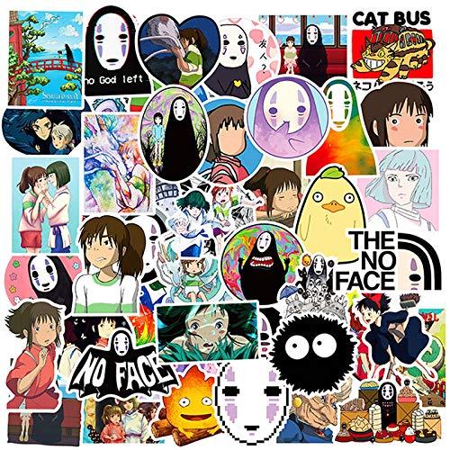 100 Stks Anime Spirited Away Waterdichte Stickers Skateboard Koffer Gitaar Grappig Meisje Graffiti Sticker Kid Klassiek Speelgoed