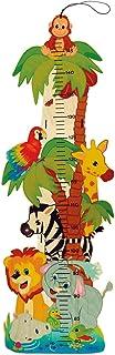 Hess Spielzeug 14626 medidor de altura para niños Multicolor Madera - Medidores de altura para niños (Centímetro, 148 cm, 79 cm, Multicolor, Imagen, Madera)
