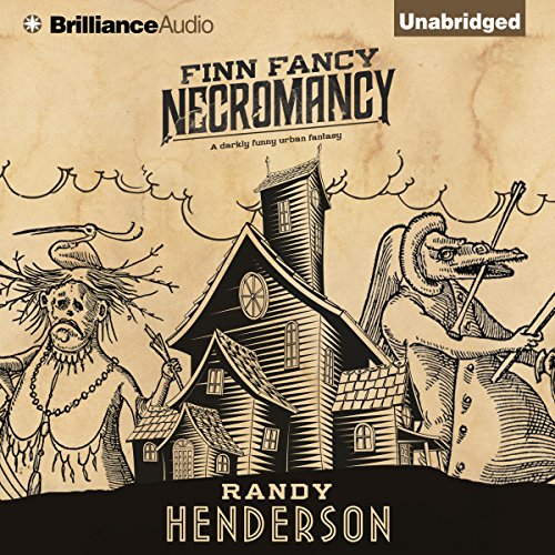 Finn Fancy Necromancy audiobook cover art