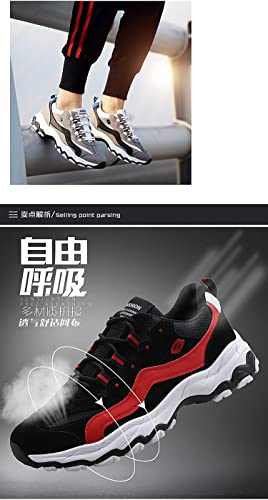 LOVDRAM Chaussures Hommes Printemps Nouvelles Chaussures De Sport Et De Loisirs pour Hommes Mode Casual Volant Tissé Chaussures De Sport Mode étudiant Chaussures De Sport