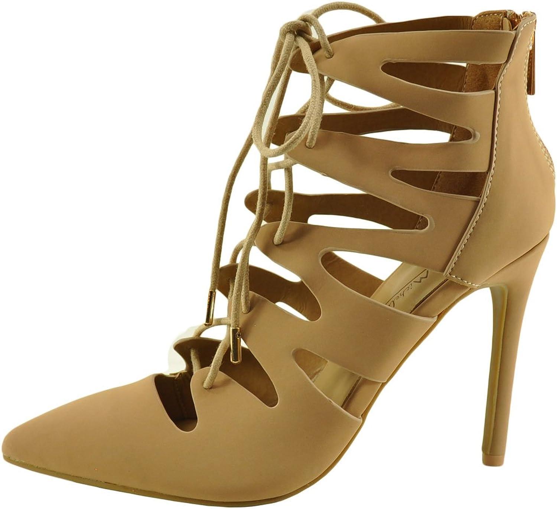 Anne Michelle Riseup 62M Women's Lace Up Pointed Toe Pumps shoes