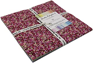 in The Beginning Garden Delights 2 Fabric Squares 36 Ten Inch Squares