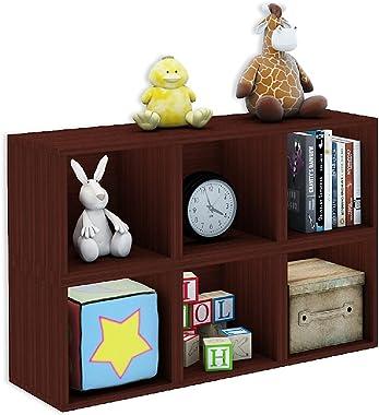 A10 Shop Cubox Storage Unit- Open Type, 30 cm Wide x 30 cm high - Mahogany (Single)