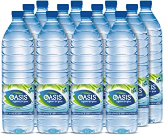 Oasis Still Water Plain - 12 x 1.5 Litres