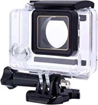 Liuzheng Waterproof DZ-307 Replacement Waterproof Housing Case for GoPro HERO4 3  Transparent
