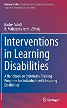 Interventions in Learning Disabilities: A Handbook on Systematic Training Programs for Individuals with Learning Disabilities (Literacy Studies)