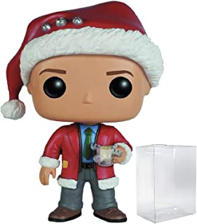 Funko Pop! Holidays: Christmas Vacation - Clark Griswold Vinyl Figure (Bundled with Pop BOX PROTECTOR CASE)