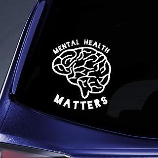 Bargain Max Decals Mental Health Matters Sticker Decal Notebook Car Laptop 5.5