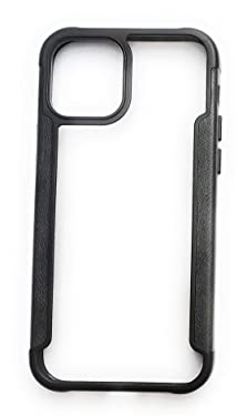 fiRe Ultra Hybrid Back Cover Case Designed for iPhone 12   iPhone 12 Pro - Matte Black