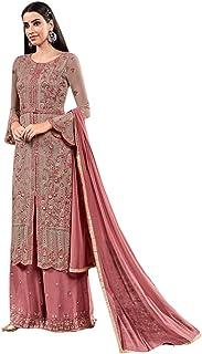 Ready To Wear Traditional Long Designer Heavy Georgette Santoon Nazmin Shiffon Dupatta Salwar Kameez Suit Women Indian Pan...