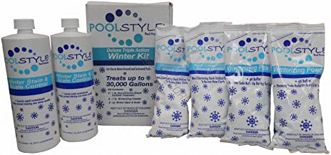 Swimming Pool Winter Chemical Chlorine Closing Kit Up To 30,000 Gallons