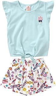 Conjunto blusa e short-saia Marisol
