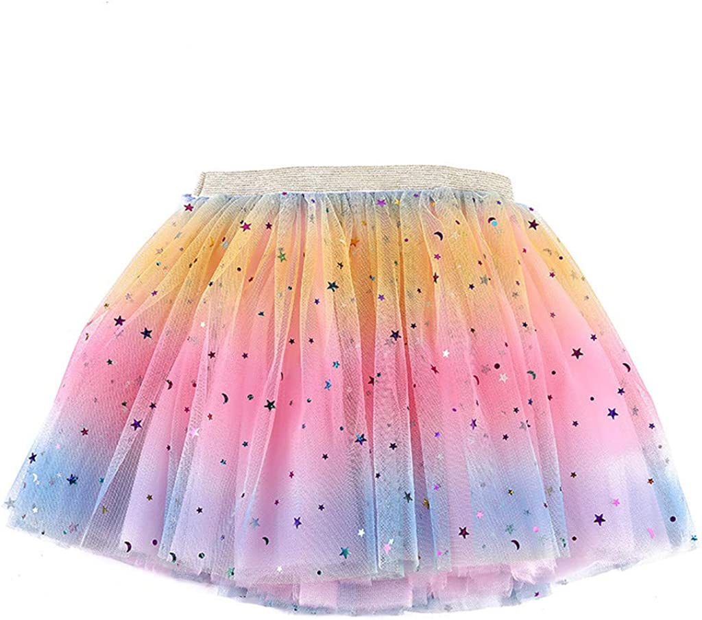 Newborn Ranking TOP4 Easy-to-use Infant Baby Girls Super Star Soft Tulle Sparkle Glitter
