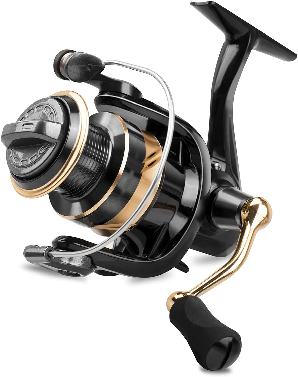 Fishing Reels Rotating Indianapolis Mall Reel Graphite 5.0:1 Gear Time sale 8BB Body