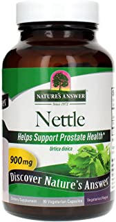 Nature's Answer Nettle Leaf Vegetarian Capsules, 90-Count