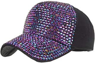 MKJNBH Star Rhinestone Baseball Cap Streetwear Summer Cotton Hat Travel Outdoor Visors Czapka Z Daszkiem
