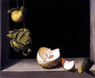 Art Oyster Juan Sanchez Cotan Still-Life with Quince Cabbage Melon and Cucumber - 20