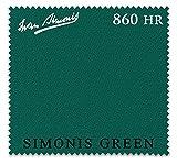 Iwan Simonis 860HR Pool Table Cloth (Simonis Green, 7 ft)