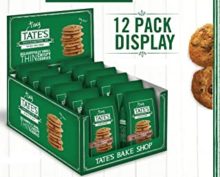 Tate's Bake Shop - Tiny Tate's Bite Size Chocolate Chip Cookies 1oz Bags (Each bag contains 12 bite size cookies) (Pack of 24)