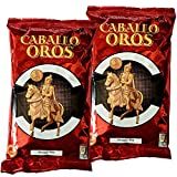 Pimentón de la Vera Picante Caballo de Oros - Producto Apto para Celiacos (Lote 2 Unidades de 250 gramos)