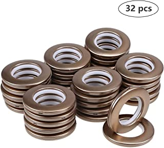 DeSS 32 Pack Curtain Grommet, Inner Diameter 1-9/16