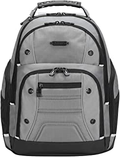 Targus Drifter II Backpack Designed for Business Professional Commuter to fit Laptop up to 16-Inch Screens, Grey (TBB23804GL)