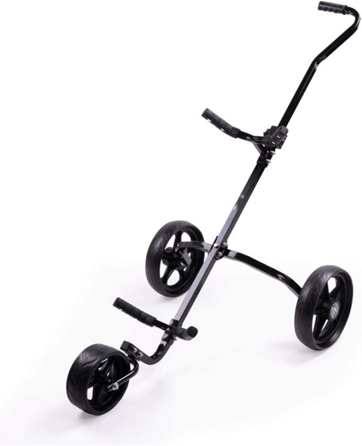 Golf Push Cart Club Easy Selling and selling Folding Wheel Washington Mall 3 Pull Trolley