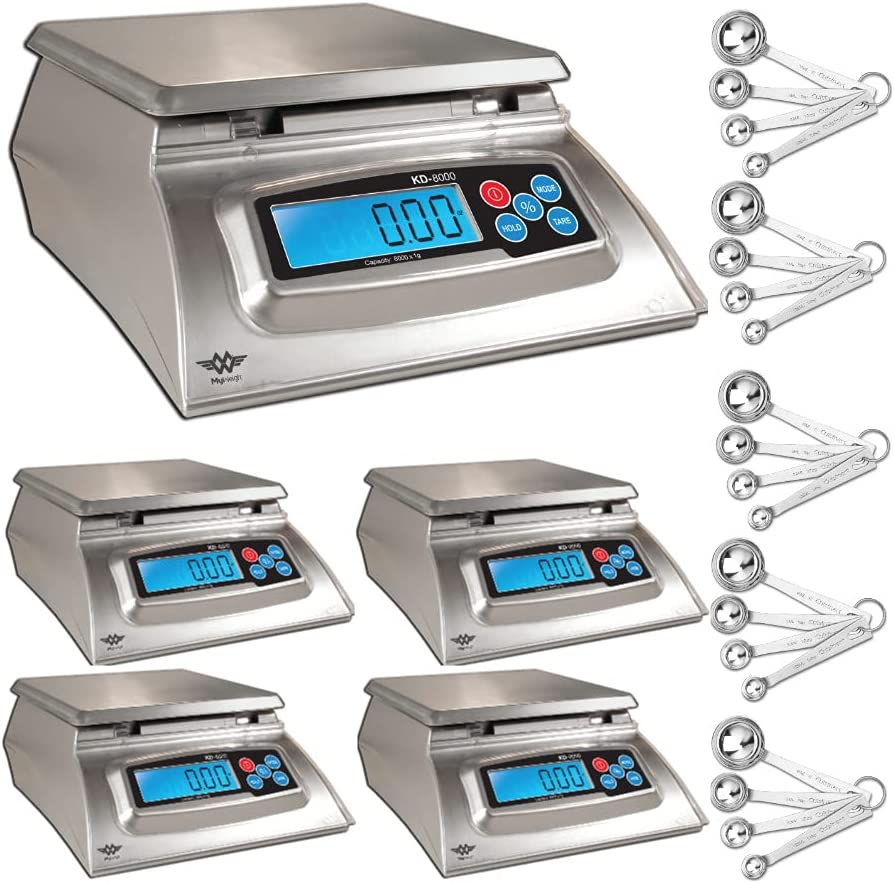My Weigh KD-8000 Kitchen And Craft Scale Adapter AC Large Luxury goods discharge sale with Digital