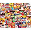 White Mountain Puzzles Things I Ate As A Kid Collage Puzzle – 1000 Piece Jigsaw Puzzle