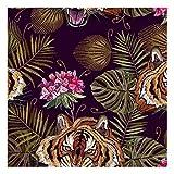 ANWUYANG Bu 145Cm Tierpferd Tiger Eidechse Stickerei Druck