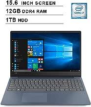 2019 Lenovo ideapad 330s 15.6 Inch HD Laptop (8th Gen Intel Quad-Core i7-8550U up to 4.0 GHz, 12GB DDR4 RAM, 1TB HDD, Intel UHD Graphics 620, WiFi, Bluetooth, Windows 10, Blue)