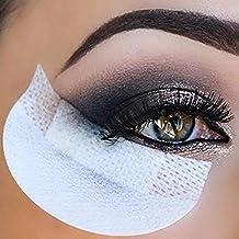 100 PCS Almohadillas desechables para sombra de ojos, Almohadillas protectoras para sombra de ojos Protector para la herramienta de aplicación de maquillaje de ojos y labios