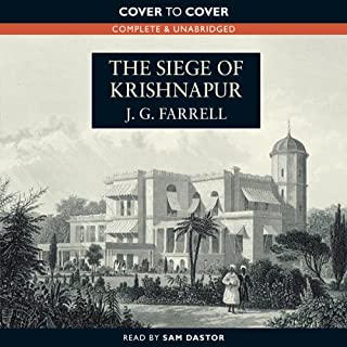 The Siege of Krishnapur audiobook cover art