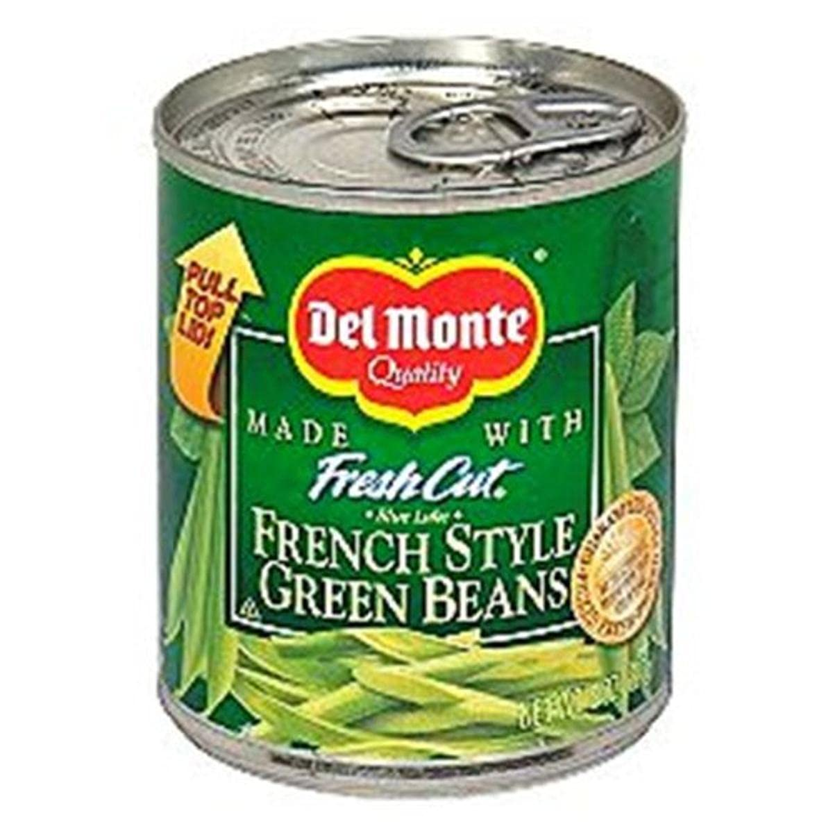 Del Monte half Arlington Mall French Style Green of 12 Pack 8-Ounce Beans