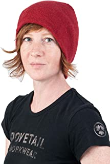 Dovetail Workwear Reversible Beanie: Merino Wool Breathable Quick Drying Itch Free