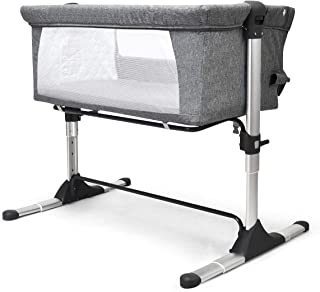 Baby Bassinet Cot Crib Bedside Co Sleeper Infant Newborn Bed Portable Cradle w/Carrying Bag