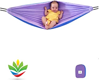 Hammock Bliss - Sky Baby Hammock Swing - The Ideal Solution for Putting Baby to Sleep – Fits Perfectly in Your Crib or Travel Cot – Rocking Motion Helps Get Baby Ready to Nap