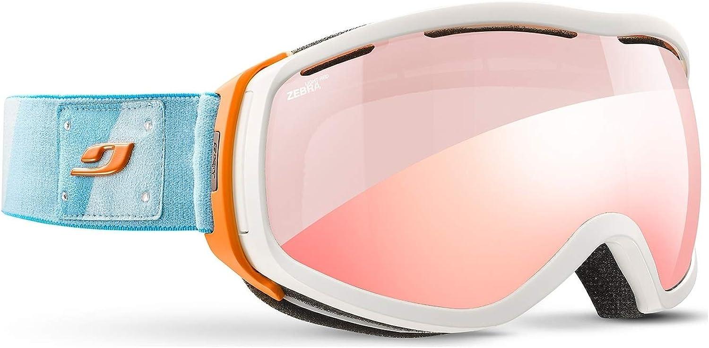 d104c9269fa25 Light Zebra White Goggles Ski OTG Elera Julbo Flash Red Red ...