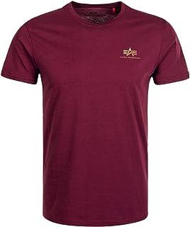ALPHA INDUSTRIES Basic T Small Logo T-Shirt Homme