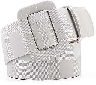SGJFZD Retro Style Wide Belt Fashion Free Punching Ladies Fashionable Decorative Belt Dress Belt (Color : Grey, Size : 105 * 4.3cm)
