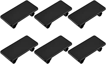 Rocker Switch Panel Cover, AutoEC Automotive Toggle Switch Hole Cover for Empty Slot, 6 pcs Hole Rocker Panel Cover Rocker Switch Bracket Filler Plug