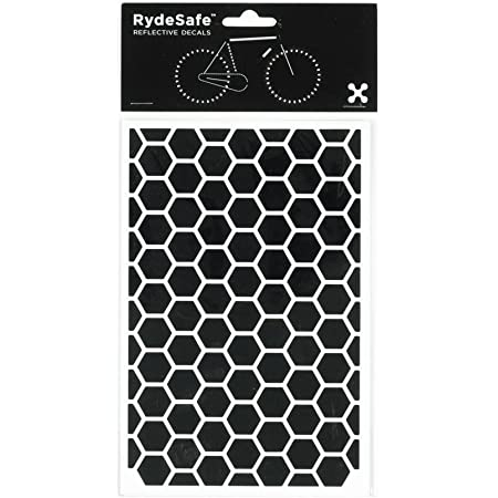 LiteMark Reflective 0.5 Inch Square Sticker Decals for Helmets Bicycles Pack of 133 Wheelchairs and More Strollers